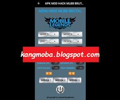 APK MOD Hack Brutal Auto Win Latest Mobile Legends Patch Silvanna Latest Mobile, Mobile Legends, Mobile Game, Cheating, Patches, Geek Stuff, Hacks, Android, City