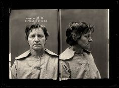 Australian mug shots taken by the Sydney Police Department during the first 3 decades of the century Elizabeth Bathory, Forensic Photography, Criminal Record, Portraits, Forensics, Museum Collection, Mug Shots, Historical Photos, Vintage Photos