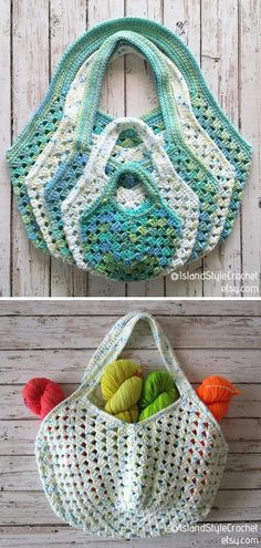 The Best Crochet and Macrame Market Bags Bag Crochet, Crochet Market Bag, Quick Crochet, All Free Crochet, Crochet Handbags, Crochet Purses, Crochet Granny, Crochet Crafts, Crochet Projects