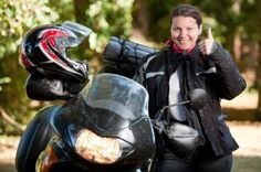 women motorcycle riders enjoy being with and in the environment around them.  at www.DatingABIker.net