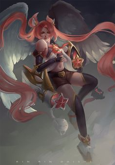 Star Guardian Jinx by RinRinDaishi