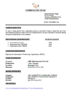 Sap Abap Resume Sample Alluring Professional Curriculum Vitae  Resume Template For All Job Seekers .
