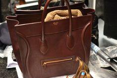 celine brown bag