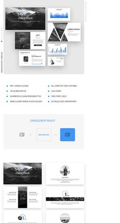 """Check out my @Behance project: """"Blue Steel Business Strategy Keynote Template"""" https://www.behance.net/gallery/59318835/Blue-Steel-Business-Strategy-Keynote-Template"""