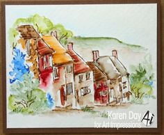 Hello Ai fans!   I have ventured into some watercolour artwork again... this time using WC Series 6 Set 2 - Sku#3498.  Both of the Series ...