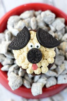 Cute Puppy Dog Cupcakes for Kid's Birthdays – Fun-Squared