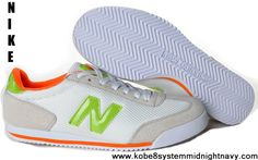 Buy 2013 New New Balance NB 360 White Orange Fluorescent Green For Women shoes