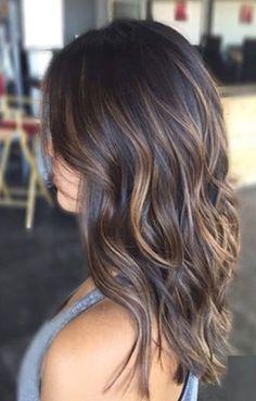 Fall hair bayalage