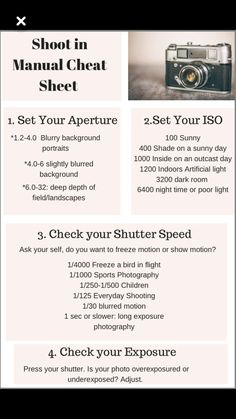 Get out and shoot in manual mode! Get out and shoot in manual mode ! Photography Cheat Sheets, Photography Series, Photography Challenge, Photography Basics, Photography Lessons, Photography For Beginners, Photography Camera, Photography Tutorials, Digital Photography