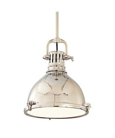 Hudson Valley 2212-PN Pelham Mini Pendant | Capitol Lighting 1800lighting.com