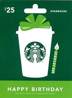 Starbucks Holiday $25 Gift Card: Amazon.com: Gift Cards