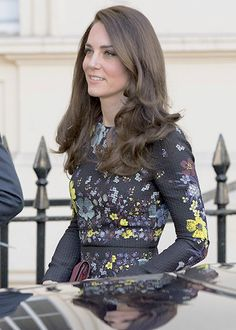 The Duchess of Cambridge, arrives at the Institute of Contemporary Art on January 17, 2017 in London, England