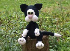 Häkelanleitungen - *Häkelanleitung - Katze Mohrle* - ein Designerstück von Kreativesallerei bei DaWanda
