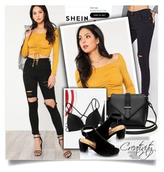 """""""SHEIN XIV/5"""" by creativity30 ❤ liked on Polyvore featuring shein"""
