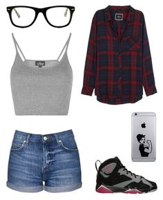"""check me out"" by anushkaeliaza ❤ liked on Polyvore featuring Topshop, Rails and Muse"
