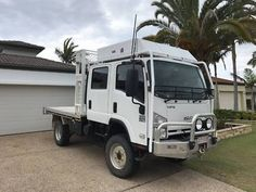 Mini Trucks, 4x4 Trucks, Cool Trucks, Lifted Trucks, Off Road Camping, Camping Stuff, Bug Out Vehicle, Camper Van Conversion Diy, Expedition Vehicle