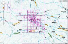 【D3.js】地図上に四分木を描く
