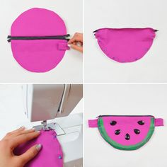 Follow this tutorial to DIY a fanny pack.
