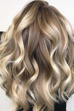 Honey Blonde highlights and lowlights. BEAUTIFUL.