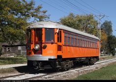 RailPictures.Net Photo: CNS&M 727 Chicago North Shore & Milwaukee Railroad Interurban at Mason City, Iowa by Jeff Terry