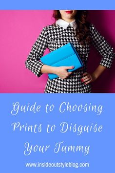 How to choose prints to disguise a rounded or protruding tummy