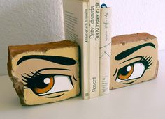 I would definitely paint something else on the bricks! But I love this!