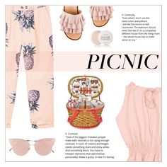 """""""Picnic in the Park"""" by shambala-379 ❤ liked on Polyvore featuring MANGO, So.Ya, Fresh and picnic"""