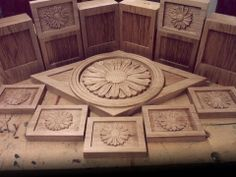 Relief carving and engraving by CNC wood router