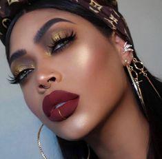 makeup for pictures Black Girl Makeup, Blue Eye Makeup, Girls Makeup, Makeup Goals, Makeup Inspo, Makeup Inspiration, Flawless Makeup, Beauty Makeup, Hair Makeup