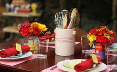 Tips for Budget Chic Bridal Shower Table Decor