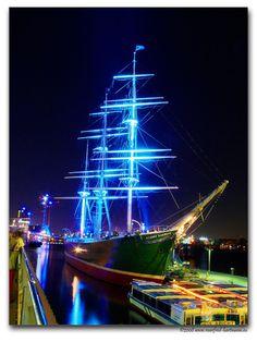 Blue Night - Hamburg, Germany