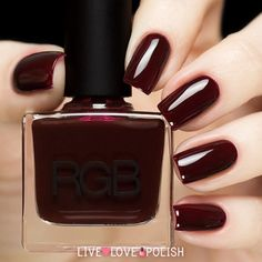 RGB Oxblood Nail Polish (Core Collection)