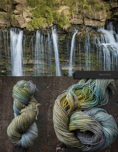 Kleurinspiratie Balls Falls / The Blue Brick Yarns