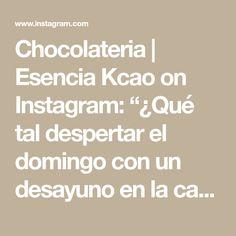 """Chocolateria   Esencia Kcao on Instagram: """"¿Qué tal despertar el domingo con un desayuno en la cama y que este además tenga fresas 🍓 cubiertas de chocolate?  Con nosotros puedes…"""" Math Equations, Instagram, Chocolate Covered Strawberries, Domingo, Recipes"""