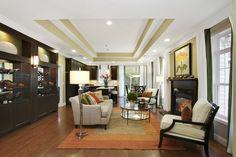 Living Room Jamestown Model at Meadowbrook Pointe Links & Spa