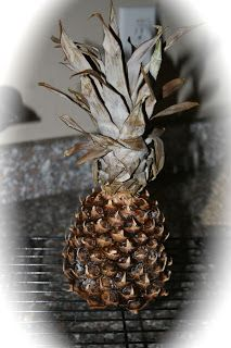 Twin Leaf Cottage: Freebie Friday - Drying Pineapples Tutorial
