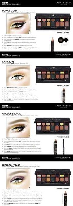 anastasia-beverly-hills-prism-eyeshadow-palette-looks 285 × 800 pixels Natural Eyeshadow, Eyeshadow Looks, Kiss Makeup, Beauty Makeup, Makeup Box, Makeup Brush, Hair Beauty, Makeup Dupes, Makeup Eyeshadow