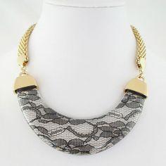 Lace Necklace. Love.