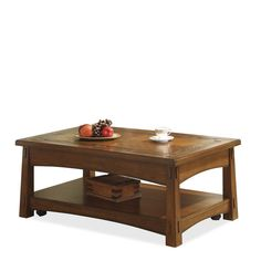 Craftsman Home Coffee Table with Lift Top