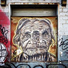 Pyramid Oracle #streetart #pasteups #wheatpaste #murals #brooklyn #nystreetart #urbanart