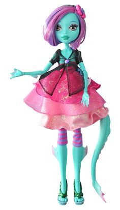 Monster High Grimmily Anne McShmiddlebopper. This is an official doll, but only Emily Anne Rigal, the author of the book FLAWD, and one lucky winner will win the doll. You are entered into the giveaway if you pre-ordered the book FLAWD on Amazon. The winner will be chosen on the 18th of August.