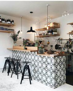 Small coffee shop design small cafe interior design ideas photos of Cafe Bar, Cafe Restaurant, Cafe Shop, Modern Restaurant, Small Coffee Shop, Coffee Shop Bar, Coffee Shop Design, Coffee Shops, Coffee Coffee