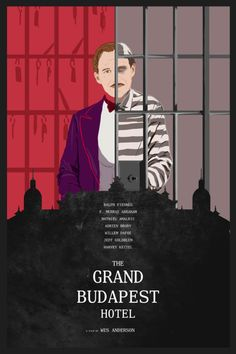 The Grand Budapest Hotel Wes Anderson, Grand Budapest Hotel Poster, Hotel Budapest, Lobby Boy, Willem Dafoe, Minimal Movie Posters, Wallpaper Naruto Shippuden, Alternative Movie Posters, We Movie