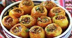 Słoneczne: Nadziewane, pieczone ziemniaki. Mąż nie daje mi sp...
