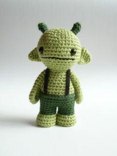 Gmurk the cute amigurumi monster by CreepyandCute on Etsy, �22.50.