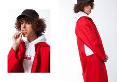 SHOOP SS16 Photos: Matías Uris Rey Artwork: M. Willis Hair & Make-Up: Carlos Verbena Models: Sufi Gartoua & Imán