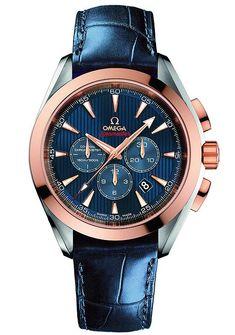 Omega Seamaster Aqua Terra Co-Axial Chronograph for London 2012 Olympic Games #menswatchesomega