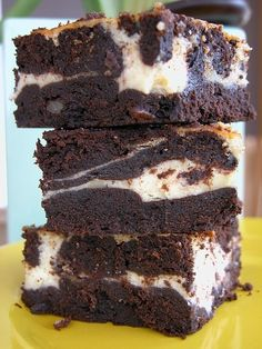Brownie chocolat vanille