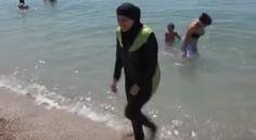 Auf der schönen Insel Korsika begab es sich vor einigen Tagen, dass einige jugendliche Touristen die Burkinis von Moslem-Frauen so lustig fanden, dass sie diese Kuriosität mit Fotos festhalten wollten. Prompt flippten die zu den Burkini-Trägerinnen gehörenden Musel-Mannen komplett aus – Ehre und so – und gingen wie die Irren auf die Jugendlichen los. Sogar eine Harpune soll dabei zum Einsatz gekommen sein – doch die Korsen sind ein stolzes Volk und lassen sich nicht alles gefallen.