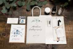 Modern Calligraphy Workshop at CC Vintage Rentals — Yours Truly Calligraphy